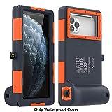 eNICER Coque de protection universelle pour appareil photo, coque étanche 15m pour surf, natation, plongée avec tuba, photo et vidéo sous-marines, pour iPhone, Samsung, Galaxy Note