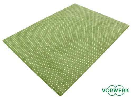 HEVO Vorwerk Bijou Petticoat grün Teppich   Kinderteppich   Spielteppich 150x200 cm Sonderedition
