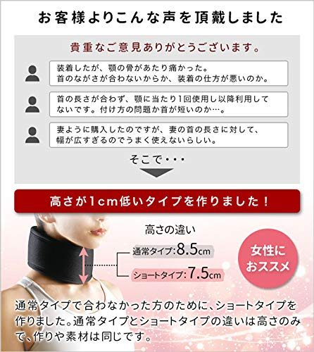 中山式産業Dr.magico『ネックサポーター』