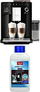 Lot avec Melitta CI Touch, Machine à Café, Expresso et Boissons Chaudes Automatique, Noir, F630-102 et Melitta Détartrant ...