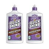Quick Shine High Traffic Hardwood Floor Cleaner, 27 Oz (2 PACK)