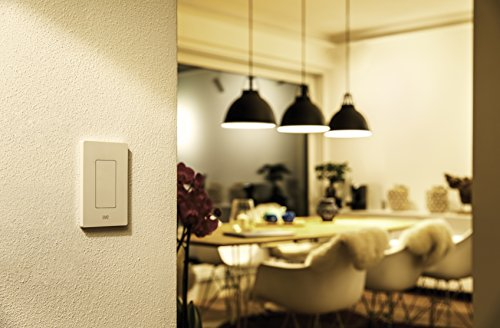 Eve Light Switch - Smart Wall Switch, turns existing setup into an smart lighting system, set timers & schedules, Siri & app compatibility, Bluetooth, requires neutral wire, Apple HomeKit, Smart Home