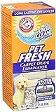 Arm & Hammer Pet Fresh Carpet Odor Eliminator Plus Oxi Clean Dirt Fighters, 1.12 Lb
