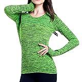 N\P Duan - Traje de yoga de manga larga teñida para ejercicio corporal,...
