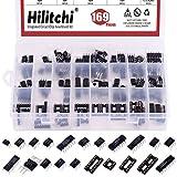 Hilitchi Integrated Circuit Chip Assortment Kit with Sockets, opamp, oscillator, pwm, PC817 NE555 LM358 LM324 JRC4558 LM393 LM339 NE5532 LM386 TDA2030 TDA2822 PT2399 UC3842 UC3843 ULN2003(169)