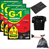 G 1® Oxo Biodegradable Garbage Bags for Home Kitchen   19 X 21