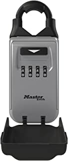 Master Lock 5420D Set Your Own Combination Portable Lock Box with Adjustable Shackle, 6 Key Capacity