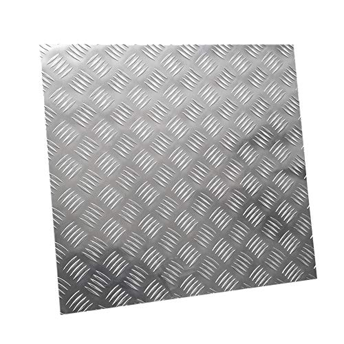 GAH-ALBERTS 466077 Chapa lisa, aluminio, 200 x 1000 x 1,5
