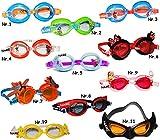 alles-meine.de GmbH 3-D _ Schwimmbrille / Chlorbrille / Taucherbrille -  Disney Planes - Dusty  -...