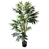 Pure Garden 50-10004 5 Foot Tropical Palm Artificial Tree, 30x30