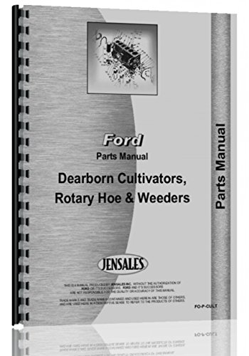 Dearborn Field Cultivator Parts Manual