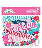 DOODLEBUG DESIGN INC. French KISS CHIT Chat, multicolor, talla única