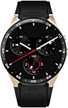Smart Watch,3G WiFi Android 5.1 All-in-One Smart Watch with Nano SIM Card Slot GPS Camera Heart Rate Monitor Google Map (Red)