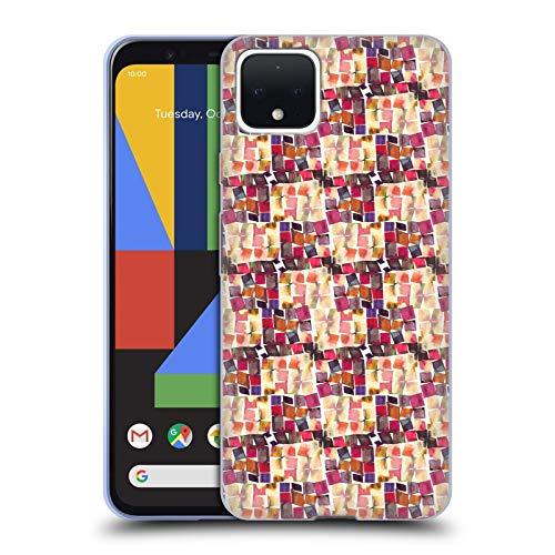 Officiële Ninola Minimale haak Patronen Soft Gel Case Compatibel voor Google Pixel 4
