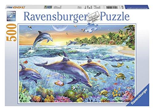 Ravensburger Puzzle 14210 - Bucht der Delfine - 500 Teile