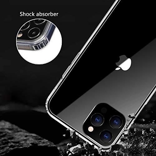 ANEWSIR Hülle Kompatibel mit iPhone 12/12 Pro 6.1 Zoll Hülle Schutzhülle (Transparent).