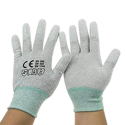 Rennsport Handschuhe Männer Kohlefaser Sommer Reithandschuhe Anti Rutsch Cross Country Einfache Racing Handschuhe (Color : Colour, Size : XL)