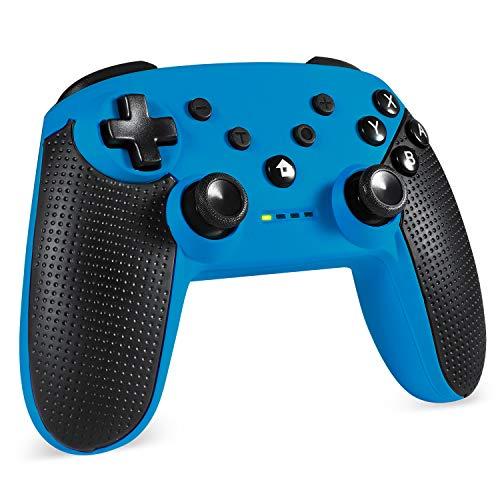 EasySMX Mando Inalámbrico, [Regalos Originales] 2.4GHz Gaming Controller Gamepad Joystick con Doble Vibración, Batería de Litio Juega con 8 Horas para PS3 / PC/Android Phones/Tablets/TV Box