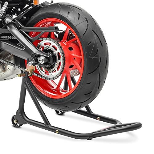 ConStands - Motorrad Montageständer für Kawasaki ER-6f / ER-6n Schwarz-Matt Hinten XM Racing