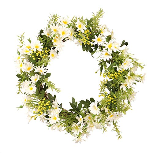 cherrypop - Guirnalda de flores artificiales, diseño de margaritas