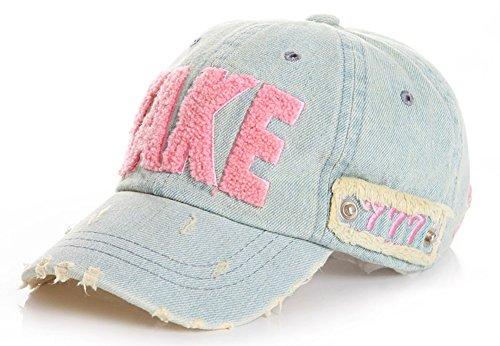 Roffatide Niños Letras Gorra de Béisbol Sombrero de Sol Niñas Al Aire Libre Sombreros de Verano