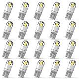 194 LED Car Bulb 3030 Chipset 2SMD T10 194 168 W5W LED Wedge Light Bulb 1.5W 12V License P...