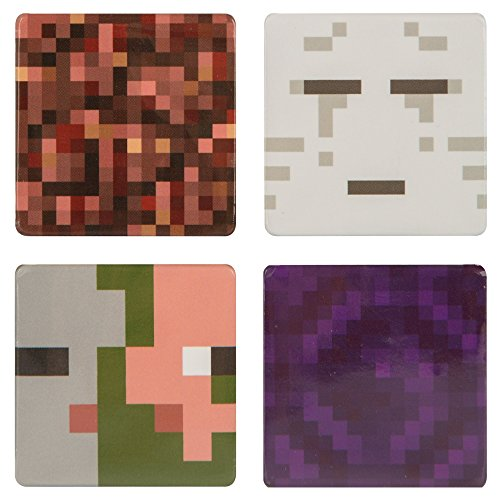 Minecraft 4 Pin Pack The Nether
