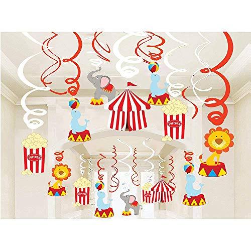 Sayala 30Pcs Partie Hanging Décoration,Suspendus Tourbillons Guirlandes Hanging Swirl pour...