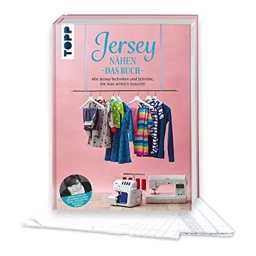 Jersey nähen - Das Buch: Alle Jersey-Techniken und Schnitte, die man wirklich braucht! Erstmals im Buch: Checkerhose, Kinderkleid und Wintermütze von Pauline Dohmen