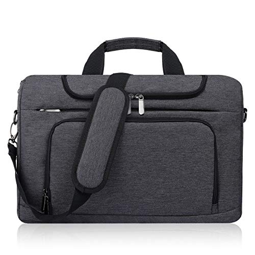 Bertasche Laptop Bag 17-17.3 Inch Men's Shoulder Bag for College, Work, Business...
