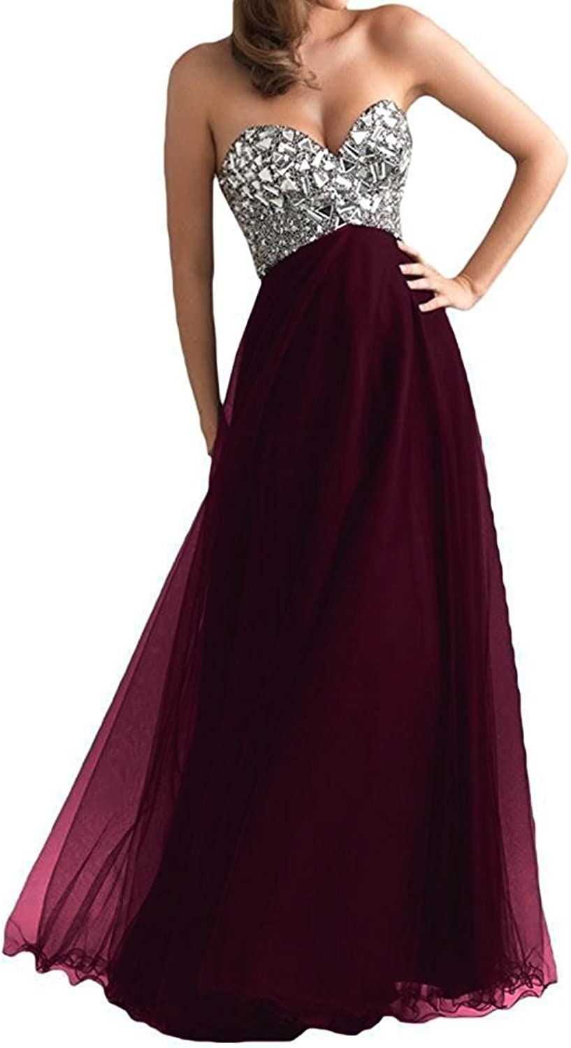 Victoria Prom Women's Long Tulle Party Dress Prom Gown