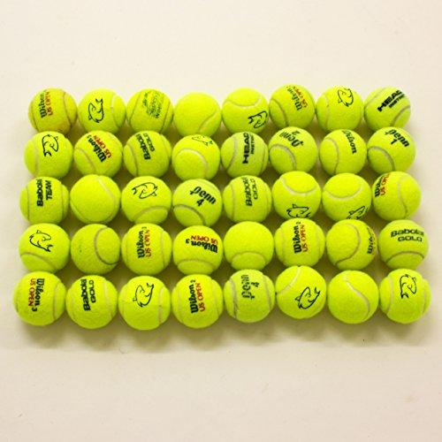 Tennisbälle, gebraucht, für Hunde, 40Stück