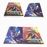 Álbum Titular de Tarjetas Pokémon Carpeta Carpeta Libro 30 páginas 240 Tarjetas Capacidad...