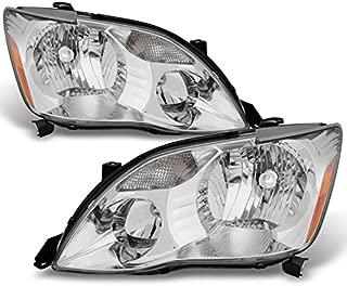 For 2005 2006 2007 Toyota Avalon Driver Left + Passenger Right Side Halogen Type Headlights Pair Sets