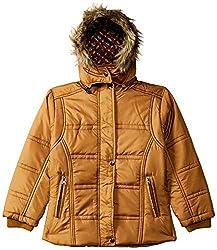 Qube by Fort Collins Girls Parka Regular Fit Jacket