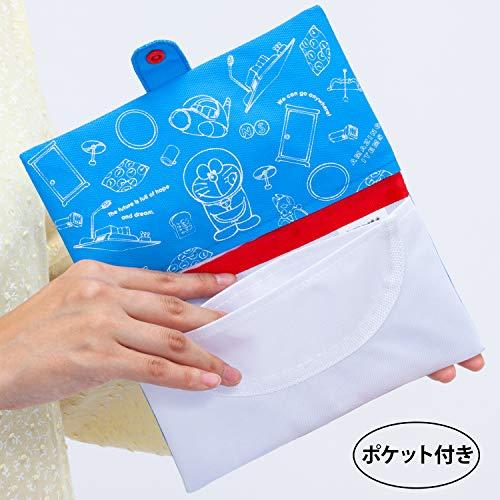 アストロマスクケースドラえもん携帯用ポケット付二つ折りコンパクト900-28