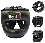 Bout3® Muay Thai MMA Casco, Caschetto Boxe - Protezione Testa per Krav Maga, Arti Marzial...