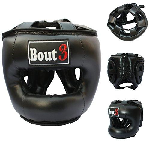 Bout3® boxen hoofdbescherming bokshelm MMA Muay Thai kickboxen UFC sparring training kracht MAGA vechtsport bokszak zandzak - professionele hoogwaardige boxen helmbescherming