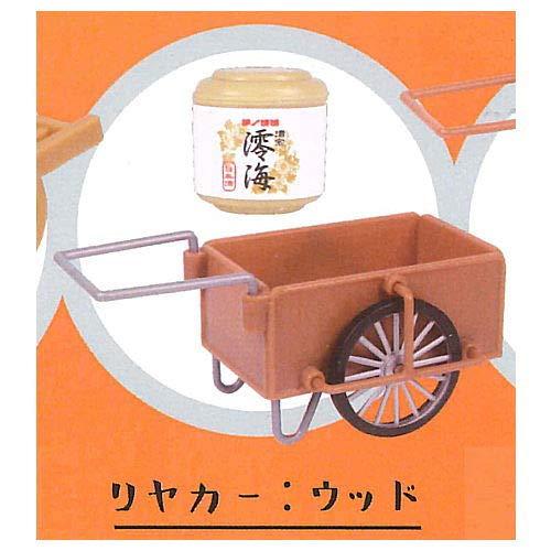 運べる大八車&リヤカー2 [3.リアカー:ウッド](単品)