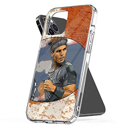 Nadal Clay Compatibile con Custodie per Telefoni Cover iPhone 12/11 Pro Max 12 mini SE X/XS Max XR 8 7 6 6s Plus Custodie
