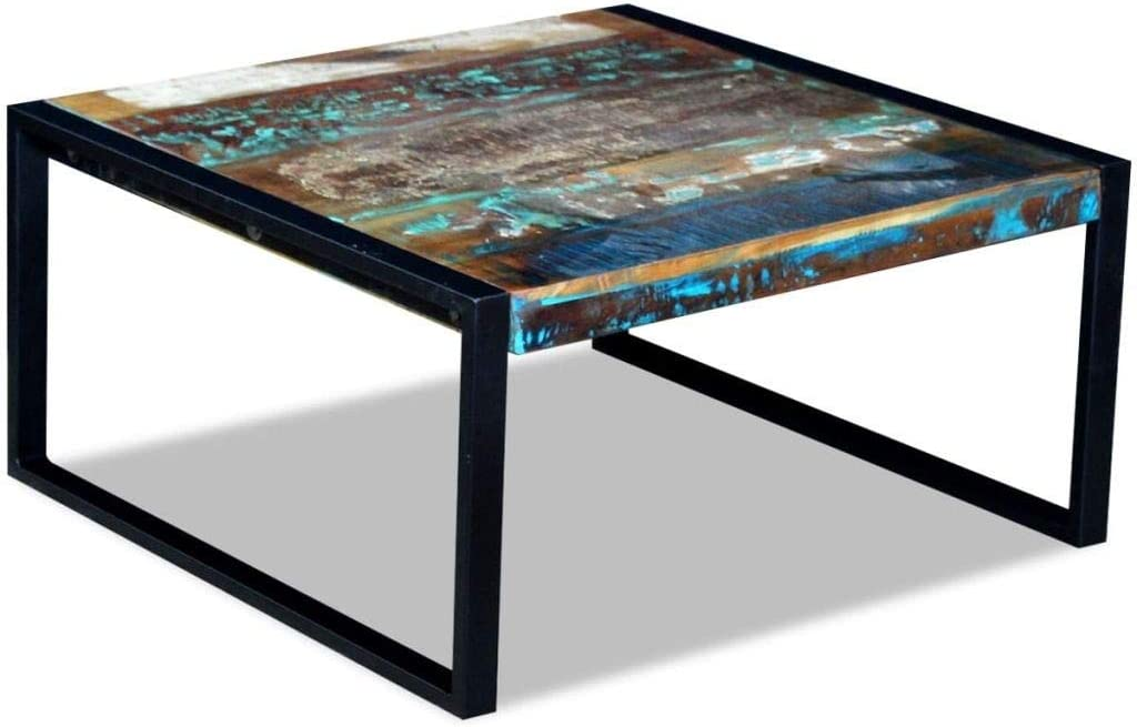 Coffee Table Solid Max 84% OFF Add Unique Charm Safe A Recl Max 75% OFF and Space Stable