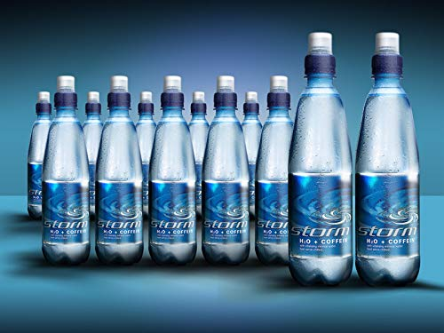 Storm H2O+Coffein - 12 x 500 ml PET stilles, koffeinhaltiges Mineralwasser inklusive 3,00 € DPG Pfand…