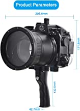 Sea frogs for Sony A7 II FE 28-70mm 40M/130FT Underwater Camera housing with Pistol Grip (Standard Port)