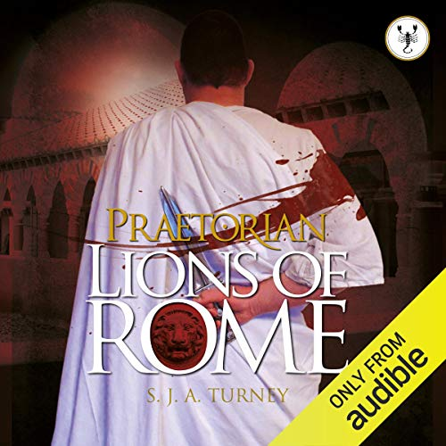 Lions of Rome audiobook cover art
