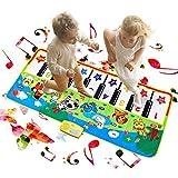 Musikmatte Kinder, Reditmo Tanzmatte Piano Matte Keyboard Matte Klaviermatte für Babys, Kinder,...