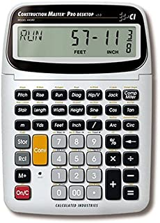 Calculated Industries 44080 Construction Master Pro Construction Calculator