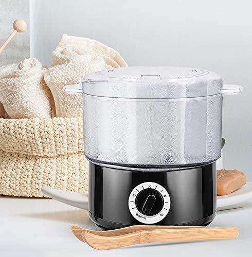 KKTECT Vapor de toallas de calentamiento rápido de 5 minutos Calentador de toallas de peluquero pequeño comercial Calentamiento de mascarilla Calentador de toallas de spa diurno Usos múltiples