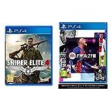 sniper elite 4: italia ps4- playstation 4 & fifa 21 playstation 4 [edizione italiana]