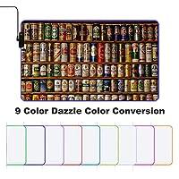 Creative Bottles Beer Art ゲーミングマウスパッド マウスパッド 大型 キーボードパッド 防水 ズレない