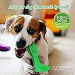 Brosse a Dent Chien Jouet à Macher Jouets de Nettoyage des Dents Cadeau pour Chien Jouets en Caoutchouc Naturel,Non Toxique et Durable #3